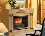 03356465 Portal marmurowy Madera Palace do wkładów żeliwnych standardowych (kolor: Maryolla)