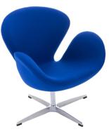 99851035 Fotel Cup inspirowany projektem Swan kaszmir (kolor: niebieski)