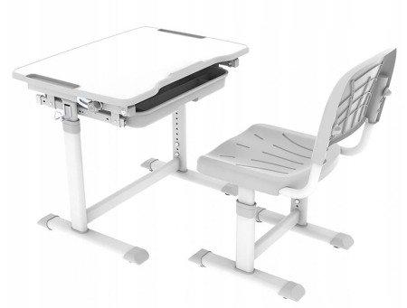 Biurkosa Biurko i krzesełko dziecięce Grey 11976312