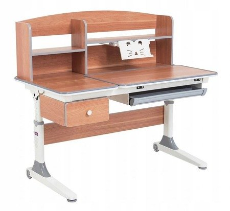 Biurkosa Regulowane biurko szkolne dla dziecka Grey 11976308