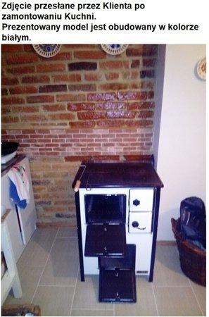 DOSTAWA GRATIS! 25969039 Kuchnia, angielka 5,6kW MINI, Jawor - bez płaszcza wodnego (nieobudowana)
