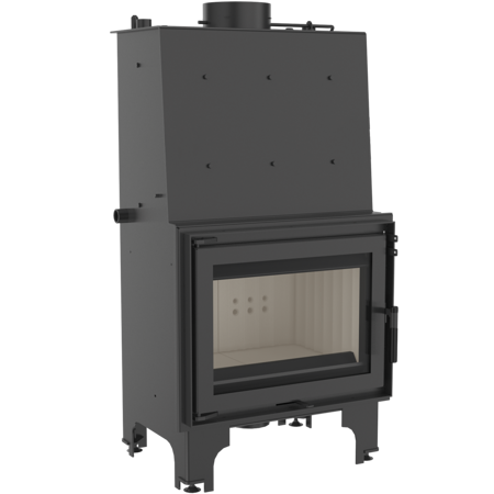 DOSTAWA GRATIS! 30046805 Wkład kominkowy 12kW AQUARIO Z14 PW  z płaszczem wodnym, wężownicą (szyba prosta) - spełnia anty-smogowy EkoProjekt