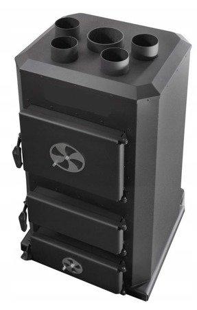 DOSTAWA GRATIS! 95472711 Piec nadmuchowy 25kW, blacha kotłowa 6 i 10mm (paliwo: drewno, miał węglowy, węgiel brunatny, węgiel kamienny, pellet)