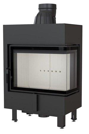 KONS Wkład kominkowy 12kW Lucy BS (prawa boczna szyba bez szprosa) - spełnia anty-smogowy EkoProjekt 30063874