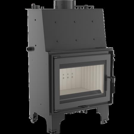 KONS Wkład kominkowy 9kW AQUARIO Z10 PW z płaszczem wodnym, wężownicą (szyba prosta) - spełnia anty-smogowy EkoProjekt 30046804