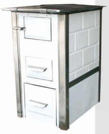 Kuchnia kaflowa, angielka 7,5kW Mini, bez płaszcza wodnego 92238162