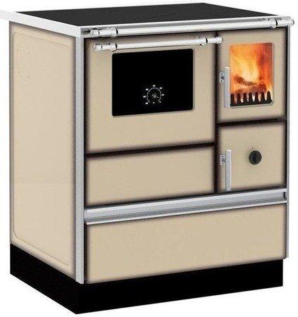 Kuchnia wolnostojąca, angielka na drewno, węgiel 6kW, bez płaszcza wodnego (kolor: kremowy) 27772891