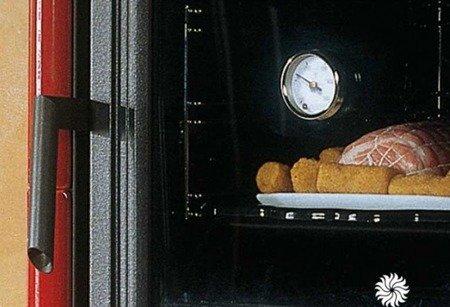 POMA Piec wolnostojący z piekarnikiem La Nordica 8kW NICOLETTA FORNO BO (piekarnik, kolor: bordo) 88810884