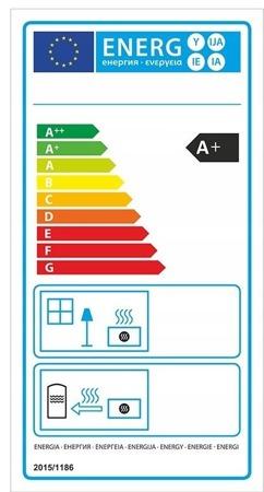 Piec wolnostojący 13-15kW (kolor: pistacjowy) - spełnia anty-smogowy EkoProjekt 99672857