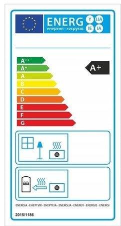 Piec wolnostojący 8kW (kolor: zielony) - spełnia anty-smogowy EkoProjekt 99672979