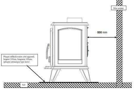 Piec wolnostojący Invicta 6kW Samara (kolor: emalia antracyt) - spełnia anty-smogowy EkoProjekt 86876401