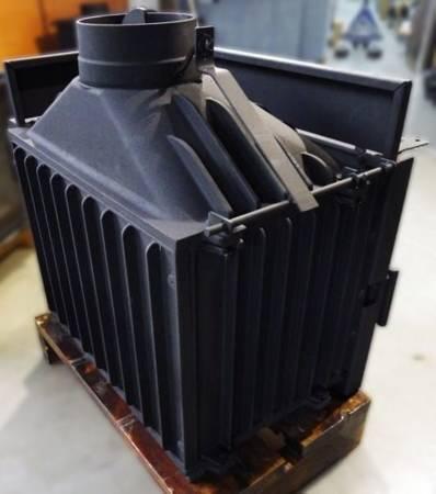 TOPSTOVE Wkład kominkowy 12kW (prawa boczna szyba) - spełnia anty-smogowy EkoProjekt 58477281