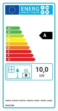 Wkład kominkowy 10kW Franek (szyba prosta) - spełnia anty-smogowy EkoProjekt 30055398