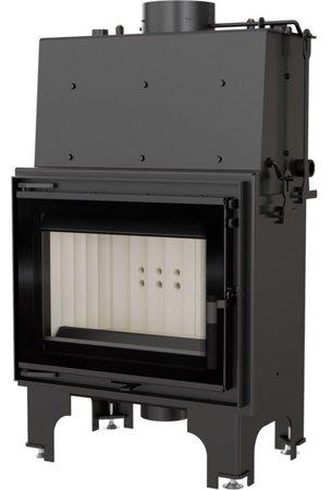 Wkład kominkowy 8kW AQUARIO M8 PW GLASS z płaszczem wodnym, wężownicą (szyba prosta) - spełnia anty-smogowy EkoProjekt 30065528